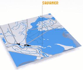 3d view of S̄avāmer