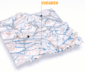 3d view of Kūrābeh
