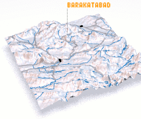 3d view of Barakatābād