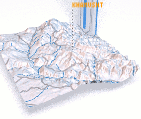 3d view of Khamūsht