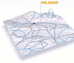 3d view of Shīlāndar