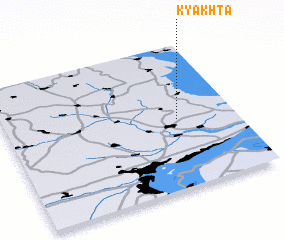 3d view of Kyakhta