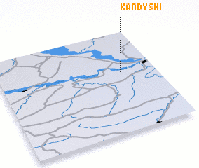 3d view of Kandyshi