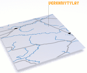 3d view of Verkhniy Tylay