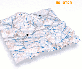 3d view of Ḩājatān