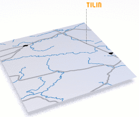 3d view of Tilin