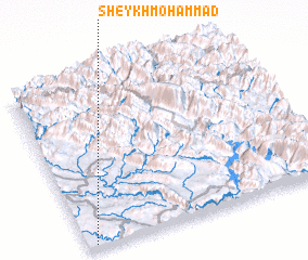 3d view of Sheykh Moḩammad