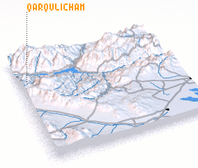 3d view of Qārqūlī Cham