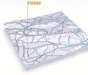 3d view of Pīr Bak