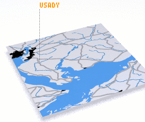 3d view of Usady