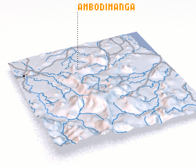 3d view of Ambodimanga