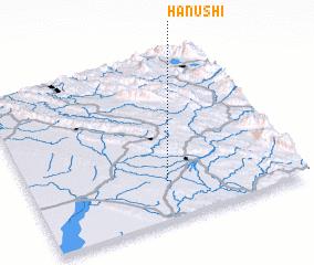 3d view of Ḩanūshī