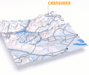 3d view of Changūreh