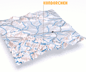 3d view of Kondorcheh