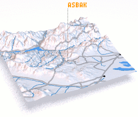 3d view of Asbak
