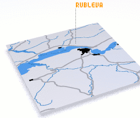 3d view of Rublëva