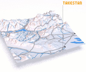 3d view of Tākestān