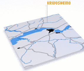 3d view of Krivosheino