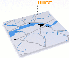 3d view of Semintsy