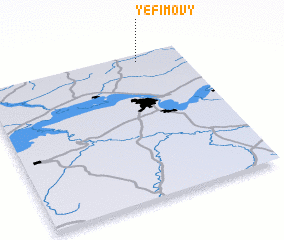 3d view of Yefimovy