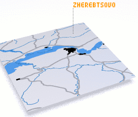 3d view of Zherebtsovo