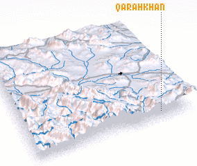 3d view of Qarahkhān