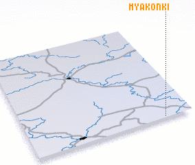 3d view of Myakon\