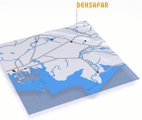 3d view of Deh Şafar