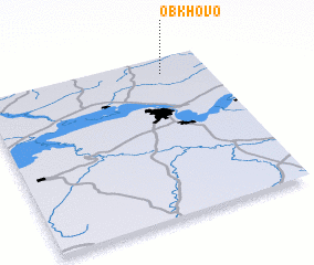 3d view of Obkhovo
