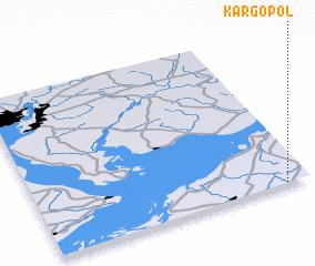 3d view of Kargopol\
