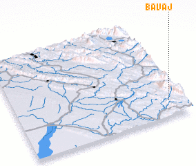 3d view of Bāvaj
