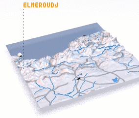 3d view of El Meroudj