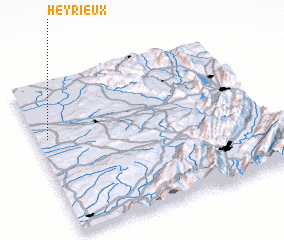 3d view of Heyrieux