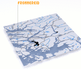 3d view of Frommereid