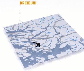 3d view of Breidvik
