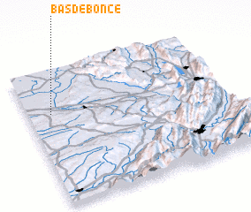 3d view of Bas de Bonce