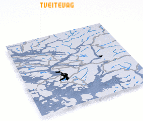 3d view of Tveitevåg
