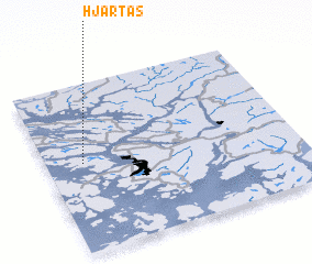 3d view of Hjartås