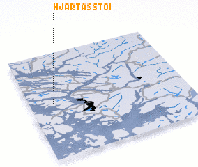 3d view of Hjartåsstøi