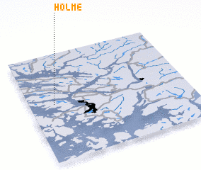 3d view of Holme