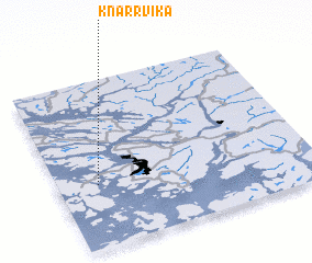 3d view of Knarrvika