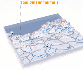 3d view of Taourirt Hefouzalt