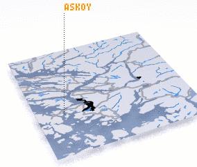 3d view of Askøy
