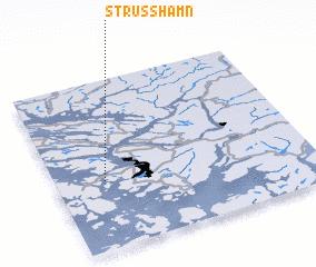 3d view of Strusshamn