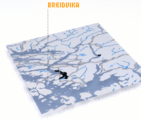 3d view of Breidvika