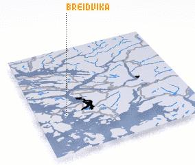 3d view of Breidvika
