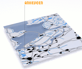 3d view of Ankeveen