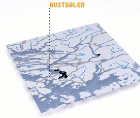 3d view of Austdalen