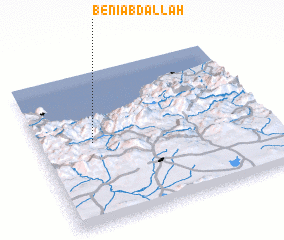 3d view of Beni Abdallah