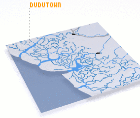 3d view of Dudu Town